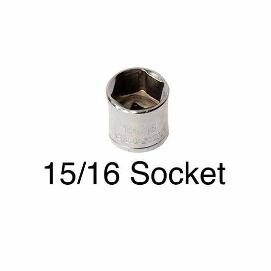 """15/16"""" socket"""
