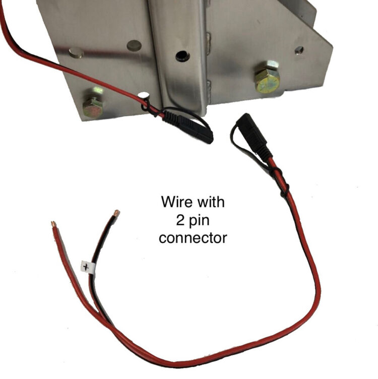 wire with 2 pin connector
